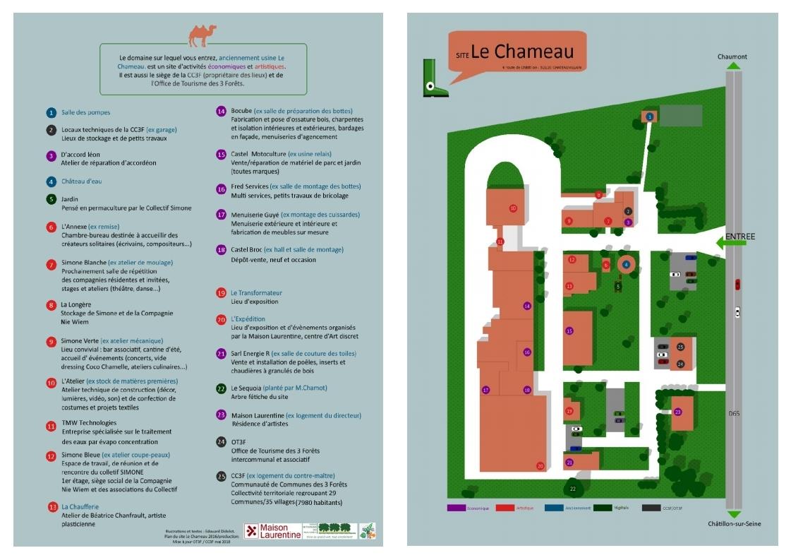 Plan site le Chameau
