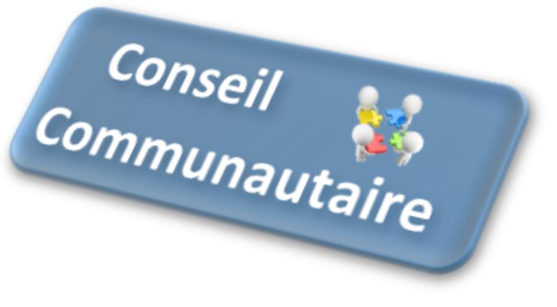 PROCHAIN CONSEIL COMMUNAUTAIRE