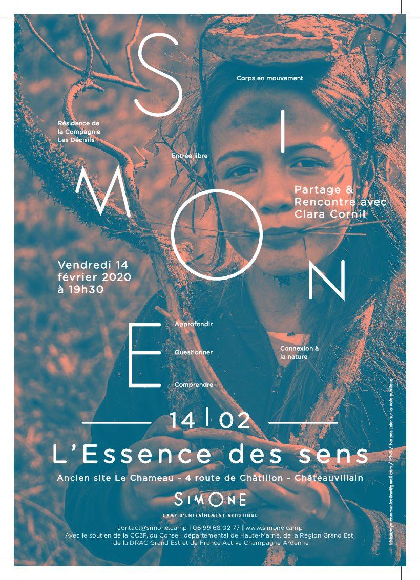 SIMONE – L'essence des sens – 14/02/2020