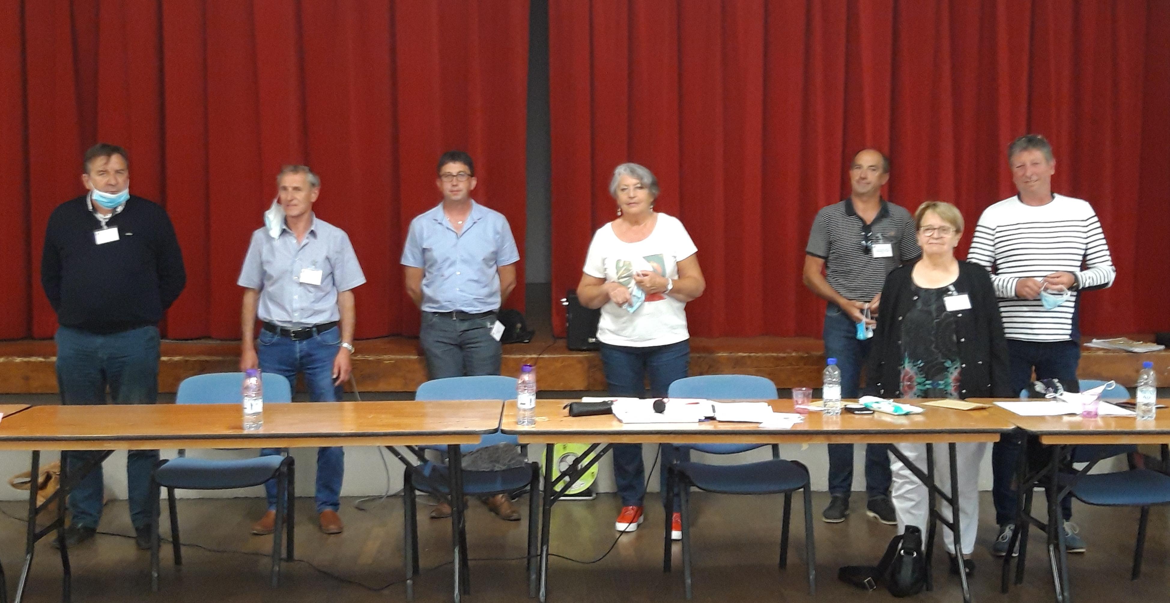 Marie-Claude LAVOCAT, réélue Présidente de la Communauté de Communes des Trois Forêts le 16 juillet 2020